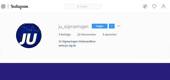 Instagram JU-WAHL-COUNTDOWN